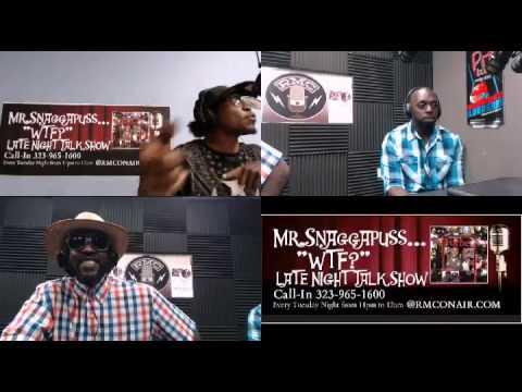 Mr. Snaggapuss WTF! The Late Night Talk Show 6 2 15