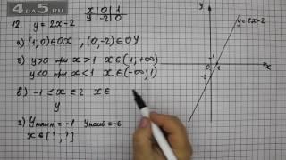 Итоговое повторение 12. Алгебра 7 класс Мордкович А.Г.