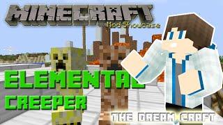 Minecraft   ELEMENTAL CREEPER! ( Wind Creeper, Cake Creeper Dan Lain-lain)   Mod Showcase