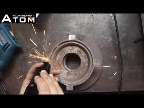 Steel casting welding demo video - Qingdao ATOM Welding Equipments Co.,Ltd.