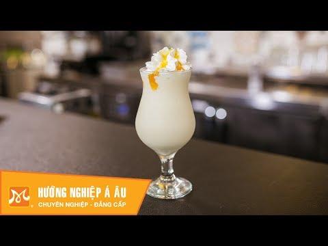 Cách làm Yogurt Mango (Sữa chua xoài) mát lạnh | Học pha chế