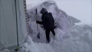2014 Winter Storm Buffalo NY - New York