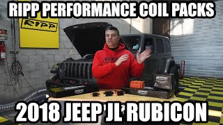 2018 Jeep Rubicon RIPP Performance Coils on the Dyno!