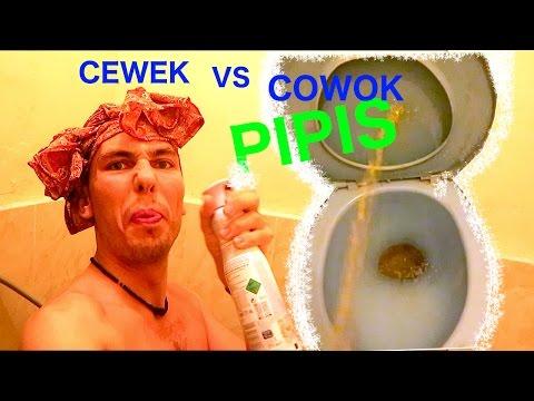 PARODY BULE!!! CEWEK VS. COWOK PIPIS DI TOILET!!! LUCUUUU