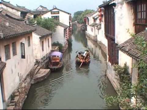 Shanghai China sights old and new
