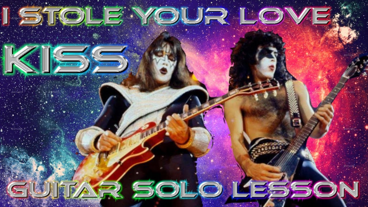 2020 molto carino buono sconto How to play 'I Stole Your Love' by Kiss Guitar Solo Lesson w/tabs