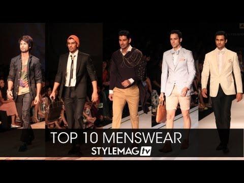 Top 10 - Menswear at Lakme Fashion Week Summer Resort 2013
