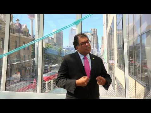 Naheed Nenshi, Mayor of Calgary - Building strength, resilience and wealth in the community.