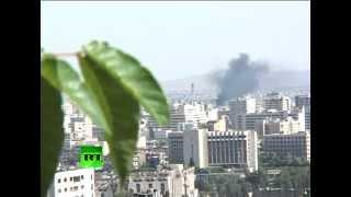 Боевые действия в Сирии дошли до центра Дамаска