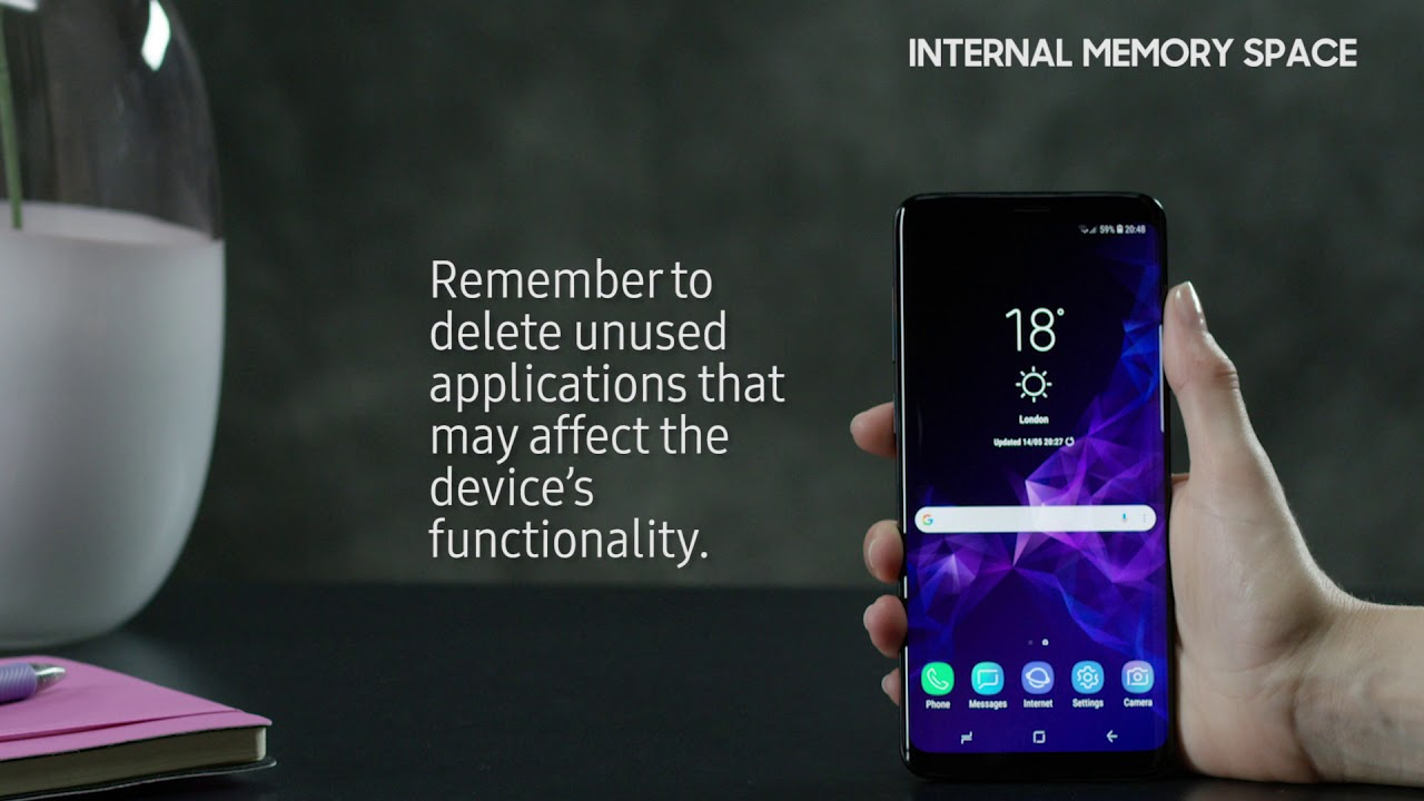 How to free up internal memory space on Samsung Galaxy