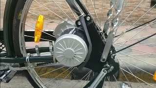 Build a powerful Electric Bicycle at home(PMDC 250W GEARED MOTOR)