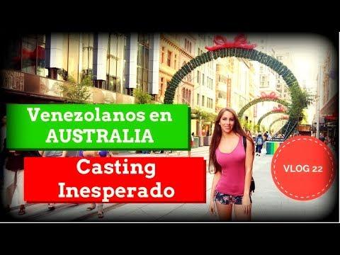 Venezolanos En Australia Celebrando Navidad + Día de CASTING - VLOGMAS - VLOG 22