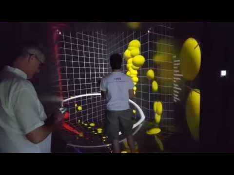 Dynamic VR drum notation trials