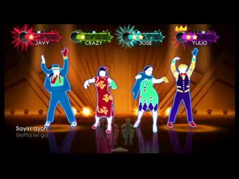 Just Dance 3 Wii Gameplay - Taio Cruz: Dynamite
