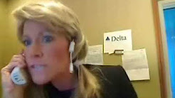 Funny Delta Phone Rep. Fakes On-Hold Messaging