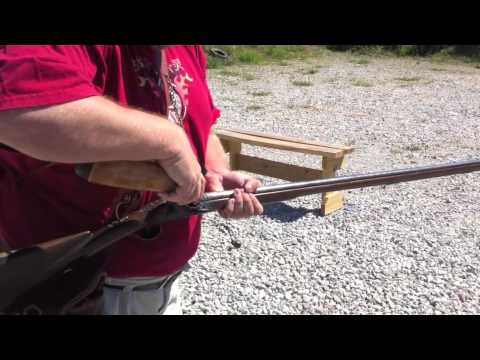 How to load and shoot a 28 Gauge Flintlock Fowler - YouTube