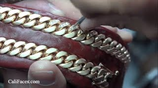 Diamond Setting Miami Cuban Link Chain