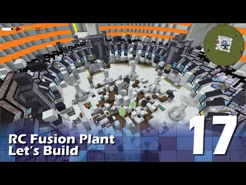 ReactorCraft - Fusion Plant Build #17 - SoleNOid