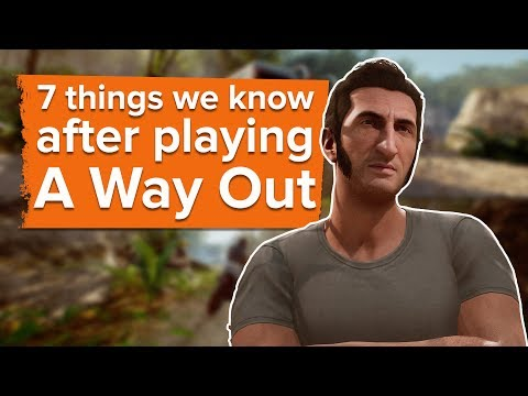 7 Things We Know After Playing A Way Out - E3 2017