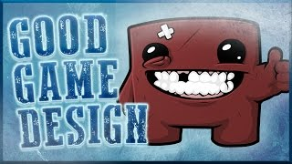 Good Game Design - Super Meat Boy: Motivational Punishment