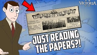 Best Victoria 2 Player Ever Just Reads The Newspapers