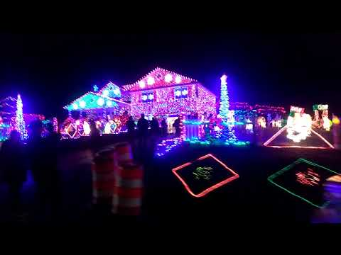 Christmas lights in the bear Delaware area