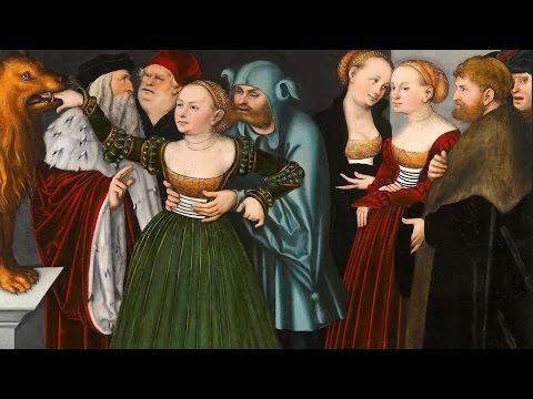 Lucas Cranach's 'The Bocca della Verità (The Mouth of Truth)'