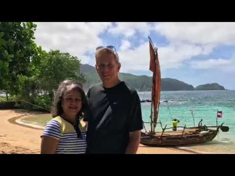 Mona and Bob American Samoa trip 10/2017