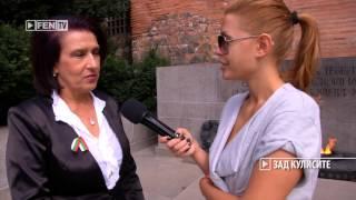 """Гуна Иванова в """"Зад кулисите"""" /21.09.2013/ FEN TV"""