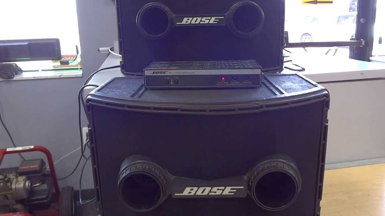 hight resolution of bose 802 series ii loudspeakers