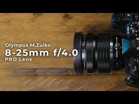 Olympus Announces the Digital ED 8-25mm f/4.0 PRO Wide Angle...