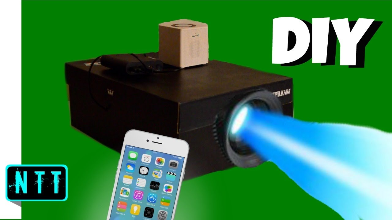 Diy Smartphone Projector How To Make A Shoebox Projector 2017