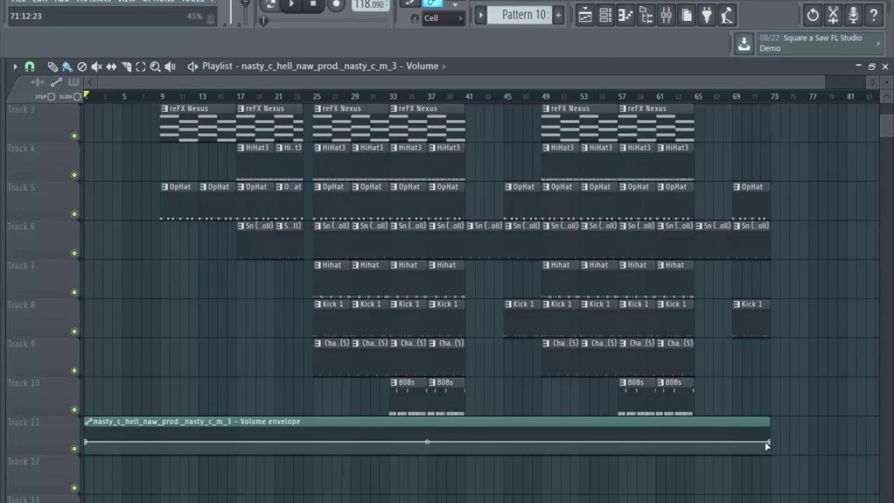 Nasty c Hell Naw beat to Trapsoul Beat (FL STUDIO Tutorial) - YouTube