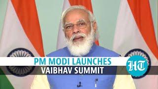 'Science at core of govt's efforts': PM Modi inaugurates VAIBHAV summit