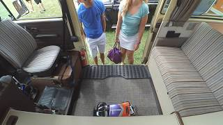 Dad tells Teen to Steal my RC Car - Car Show Security Camera in VW Vanagon