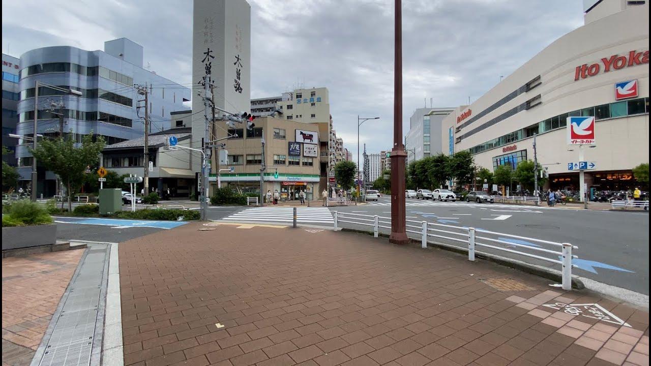 【4K】Walk on OmoriKaigan(大森海岸) at Tokyo【2020】