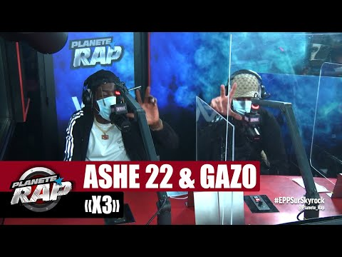 Youtube: Ashe 22 « X3 » ft Gazo #PlanèteRap