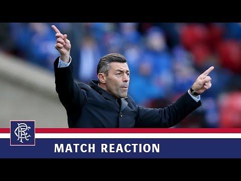 REACTION | Pedro Caixinha | Motherwell 2-0 Rangers