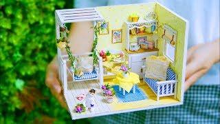 DIY Miniature, DIY Dollhouse Room, Best DIY Sweet Home, DIY Bedroom, 10 Minute DIY Doll Crafts #2