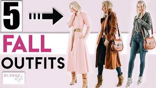 Fall Lookbook   Featuring 5 Outfit Ideas!
