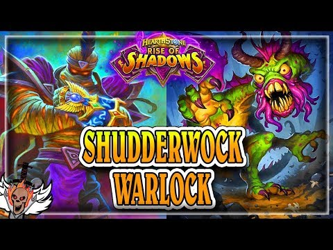 Shudderwock Warlock ???????? ~ Hearthstone Rise of Shadows