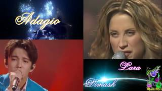 "Download Fantastic Duo # 5 / Димаш Кудайберген ""Adagio"" Lara Fabian & Dimash Kudaibergen Mp3 and Videos"
