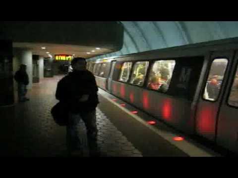 Washington Metro at Woodley Park-Zoo/Adams Morgan