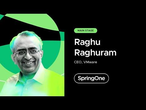 Raghu Raghuram at SpringOne 2021