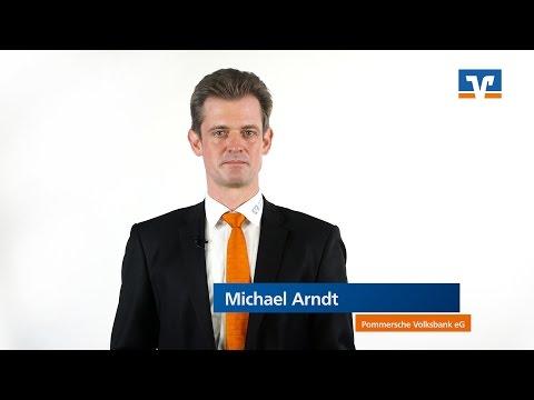 Pommersche Volksbank eG | Michael Arndt über Baufinanzierung, Kredit, Zinsen und Fördermittel