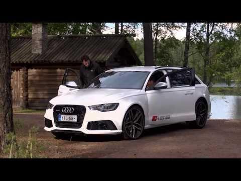 Markku Alén & Audi RS 6 Avant (Teknari 17/2013)