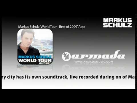 Markus Schulz 'World Tour - Best of 2009' App available!