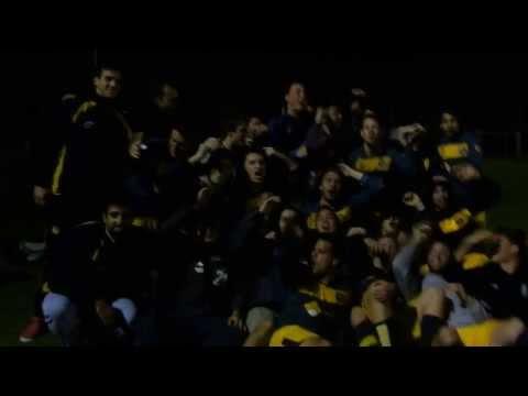 AEBU Futbol , los festejos con el himno aebuistico, triunfo 4 a 1 a Olimar 9 oct 2013