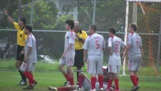 High School Soccer/Football Fight