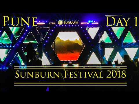 Day 1 Of Sunburn🌞 Festival 2018Oxford Valley by Shapoorji Pallonji, Pune   Inside In India